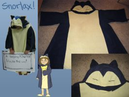 Sleepytime Snorlax Costume by PrincessBlankit
