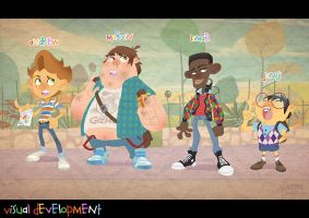 The gang by Javas