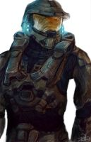 Master Chief by S1ghtly