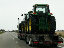 Tractors in Transport by Western-Gal