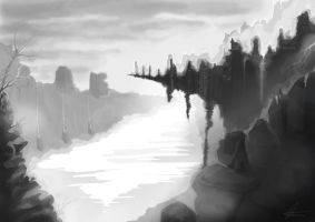 Landscape Practise by TheGreatBritishGeek