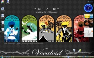 Vocaloid wallpaper by MochiTsunami