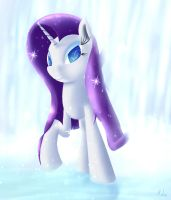 Rarity with a little bit Water by Michinix