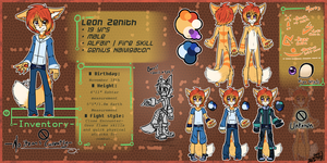 Leon ref- 2014 by BlazingStarO