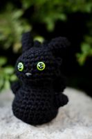 Crochet Toothless by Knyytt
