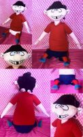 Double D Plush by MaryjaneCosplay