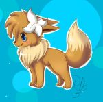 lilly the eevee by chibi-puppy12