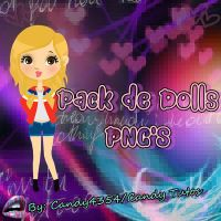 Pack De Dolls Png's By: Candy4354 by Candy4354