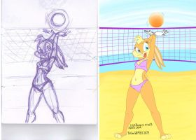 Volleyball by tolan68