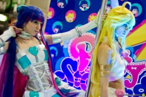 AX 2012: Panty and Stocking by Chibimofo