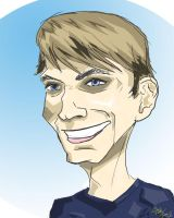 me caricature by Demonyoshi