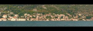 Perast City Panorama- Kotor Bay - Montenegro by skarzynscy
