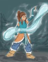 Korra by hithereflamingo