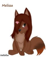 Melissa-NWS-Puppy-Finished by nellofox