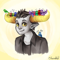 Tavros and friends by ChussKa