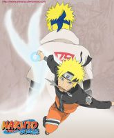 Naruto son of Yellow Flash by ateratsu