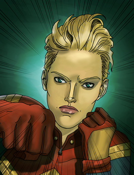 Captain Marvel 4 by alston123