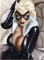 The Black Cat Felicia by TracyWong