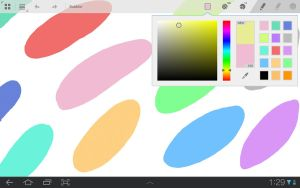 PaintApp Screenshot: Paint-mode by Arvid23