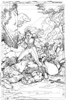 Unpublished Amethyst #1 Cover by aaronlopresti