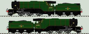 LNER V2 liveries - 60901 by 2509-Silverlink