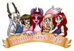 Hollie - Dont give up! by SalemTheCat23