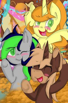 2 Years of Soda, 3 Great Friends, 6 Years of Ponie by sodasip