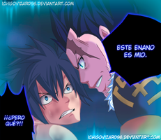 Fairy Tail 387 - Gray vs Silver - Father and Son by IchigoVizard96