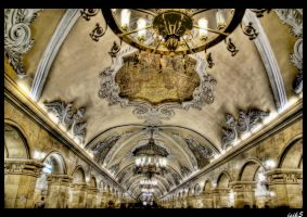 Inside the Palace HDR by ISIK5