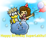 Happy Birthday SuperLakitu!! 8D by CloTheMarioLover