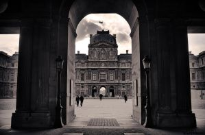 Le Louvre by Elenihrivesse
