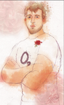 Chris Robshaw by bohemiananimegirl