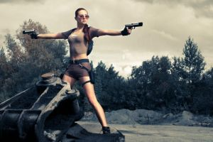 Lara Croft Cosplay #30 by errRust