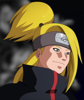 Deidara: Explosions of Night by SractheNinja