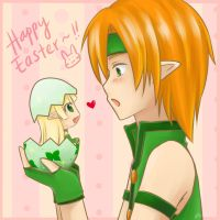 Grand Chase - LxR Easter by RaineScarlet