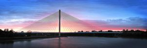Cable State Bridge Waterford by Banshee333