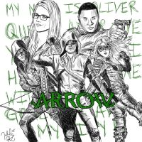 Team Arrow by jeffa7xheiny