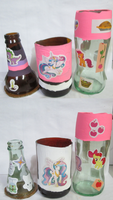 MLP Scented Bottle Candles WIP by lcponymerch