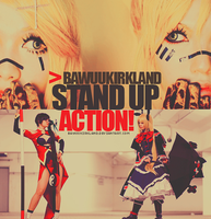 STAND'UP - ACTION by BawuuKirkland