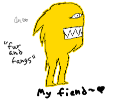"""My feind """"fur and fangs"""" by ILoveThePanda"""