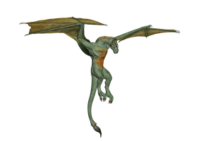 Dragon 02 PNG Stock by Roys-Art