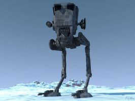 AT-ST by kryttre