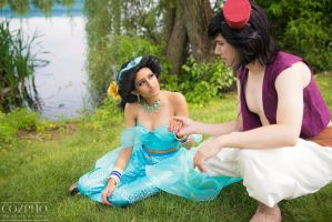 Lakeside Greeting by Save-Point-Cosplay