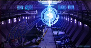 HyperSpace Core by Bluehasia