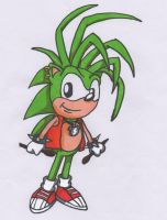 Manic the Hedgehog by Piplup88908