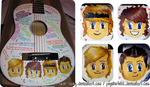 Birthday Present: McFly Guitar by saint-looby