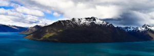 Lake wakitipu by andthecowsgobaa