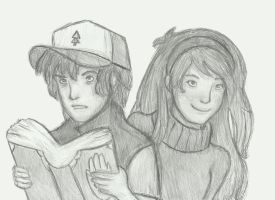 Mystery Twins by The-Ice-Castle