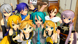 [MMD] Crypton Family by iMACobra