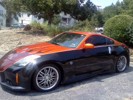 Nissan 350 Z Tuned by Kyuubichowderfan